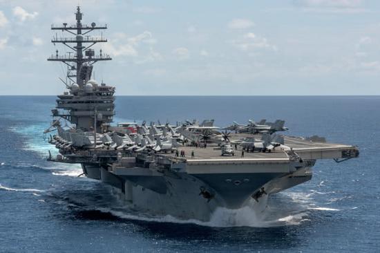 韩媒:美军航母编队将赴朝鲜半岛 参加韩军阅舰式