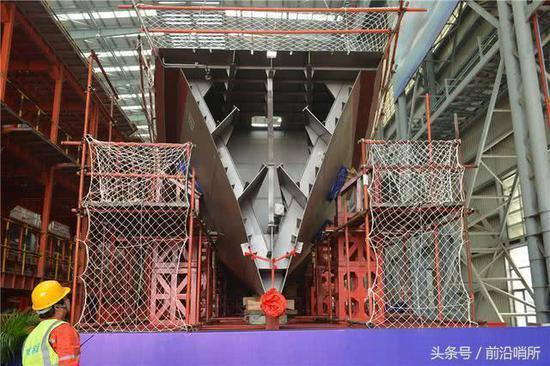 馬來西亞瀕海任務艦項目開工現場