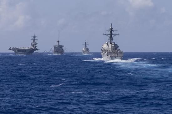 美智库鼓吹军舰艇增至400艘 建造额外航母应对中俄