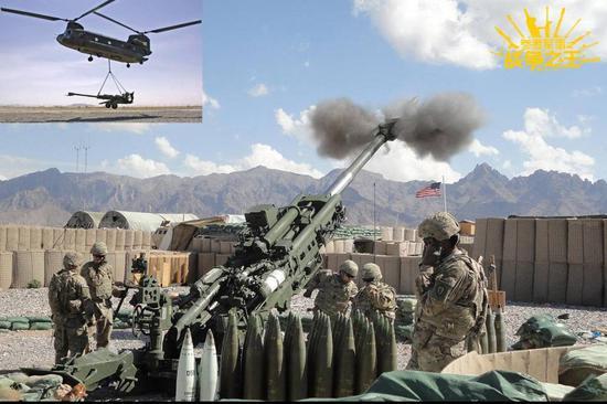 资料图:M777榴弹炮