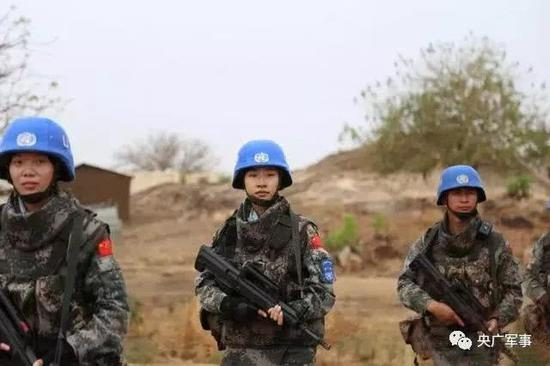 刘俊执行武器禁区巡逻和外巡护卫任务