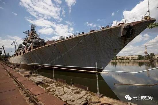 乌克兰为何拆掉万吨战舰?没能力完成建造花销也太大