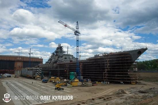 俄核动力巡洋舰维护工期再次延后 官司却惹了一大堆
