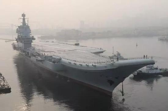 外媒:中国将部署10艘航母 美造舰速度已跟不上中国