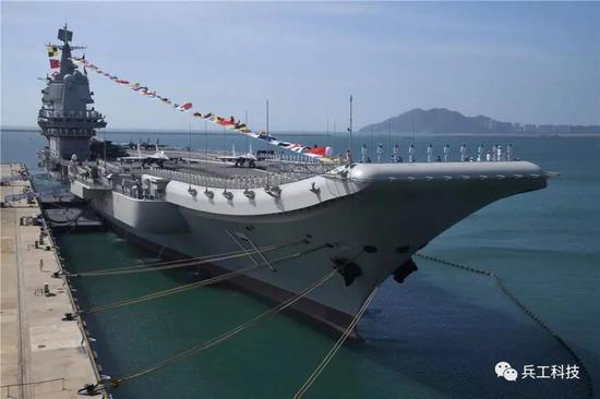 山东舰所用特种钢材全部国产 性能与美福特级相当