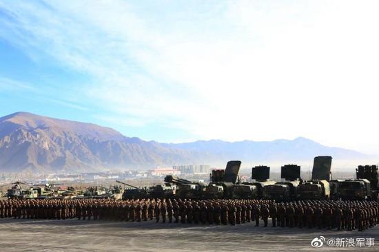 我西藏军演2款新装备引印媒关注 15式轻坦为我国独创