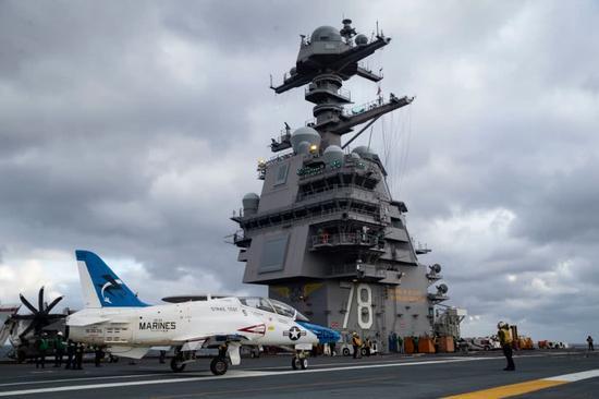 美军福特航母将装备激光武器用来拦截反舰导弹