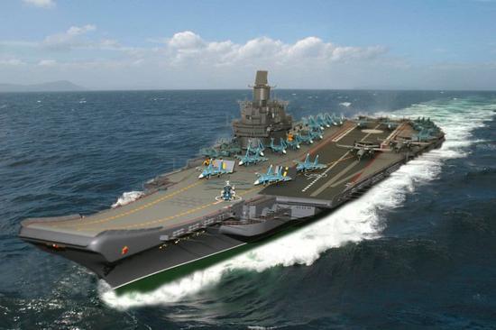 外媒:俄新航母或基于未完成的乌里扬诺夫斯克号发展