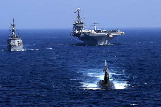 我军反潜机为何频繁现身台湾南部 拿美核潜艇刷经验