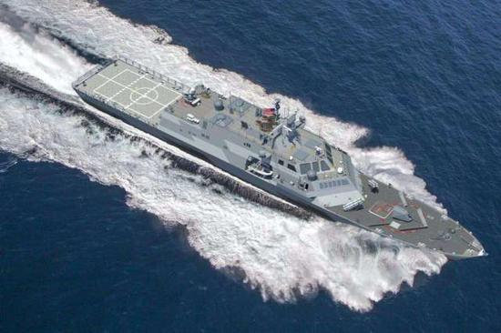 派海警船中国近海