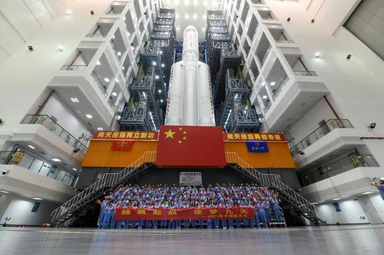 拉开中国人开拓天疆大幕 记长征五号B火箭研制团队