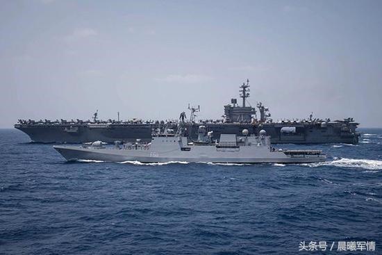 美海军围堵南海 若我辽宁舰对决罗斯福号航母战果如何