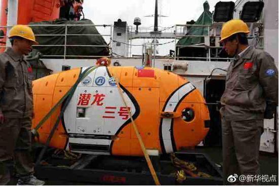 """中国新型无人潜水器""""潜龙三号""""将在南海首次海试万和颈椎病医院"""