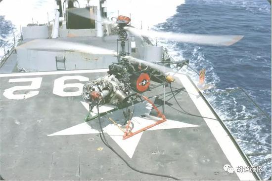 ▲ 这也是台军最早的直升机甲板的由来