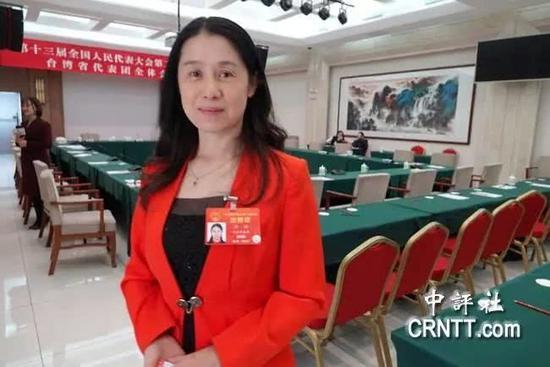 许沛(图片来源:香港中评社)