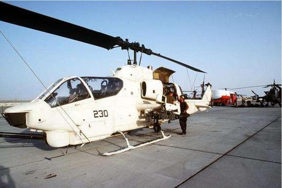 美休伊直升机堪称武直鼻祖 平衡式旋翼系统性能如何