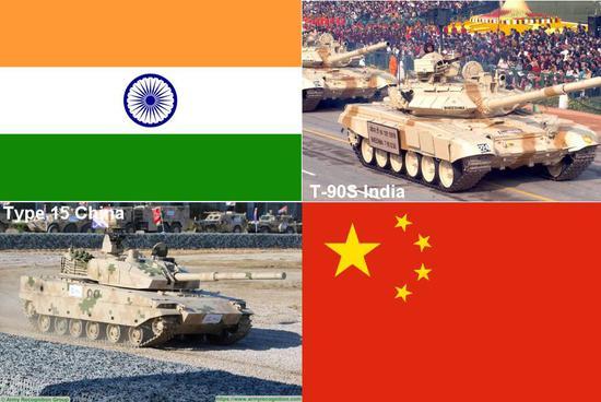 """印度T90能在高原打赢15式吗 外媒:只是个移动""""靶子"""""""