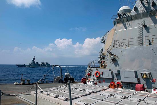 美军对中国挑衅行动有一个明显变化 会更加变本加厉