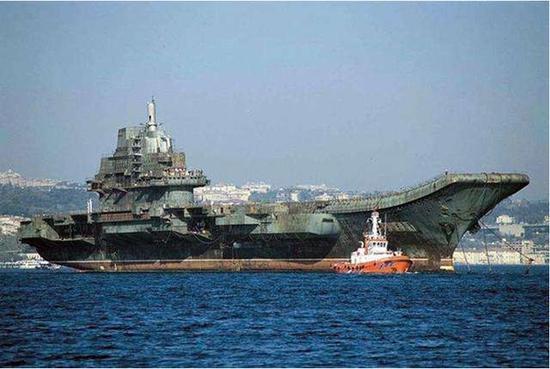 印度购俄航母比中国买瓦良格省千万美元 最终耗资22亿