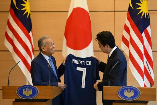 马来西亚总理正式访华前再度赴日 系三个月内第二次