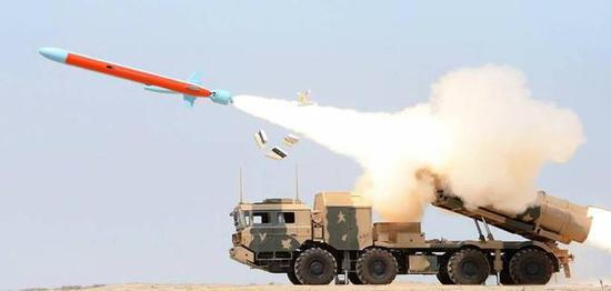 巴铁的Zarb型反舰导弹