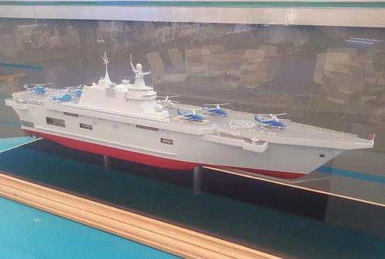 打造俄版075舰有多幸福?法国人倒贴钱送图纸帮设计