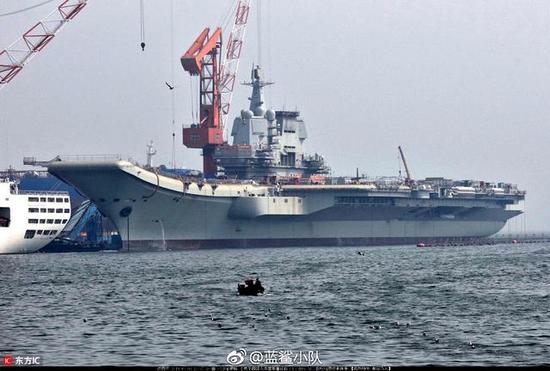 中国超级轧机王能为003航母轧钢板 美俄不具生产能力