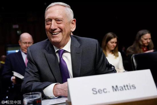 """美国防长要求美军航母""""神出鬼没"""" 以对付中国"""