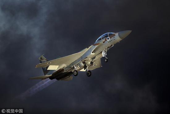 叙军称以色列导弹袭击造成3死2伤 多个防空阵地受损
