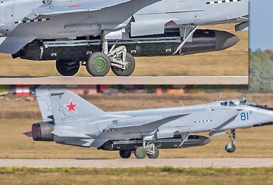 俄军的反卫星导弹