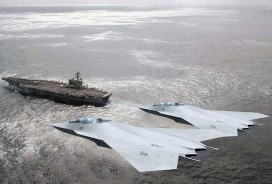 美国海军6代机项目预算被砍 因无法对抗中国东风21D