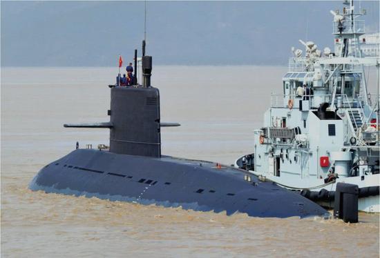 泰媒:泰国海军或再购中国潜艇 放弃增购韩国护卫舰