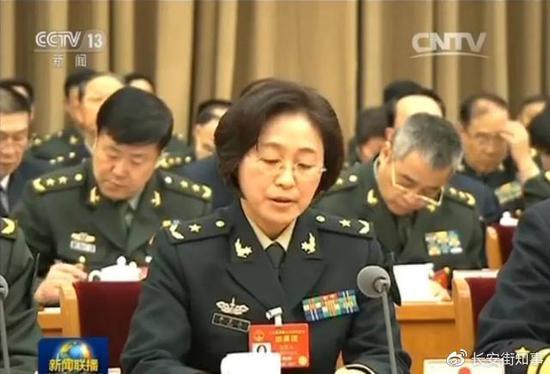 火箭军首位女将军当选院士 其成果在军中多次立功