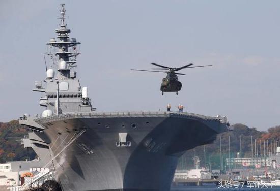 日本将派准航母巡航南海 该舰经改造战力或超辽宁舰