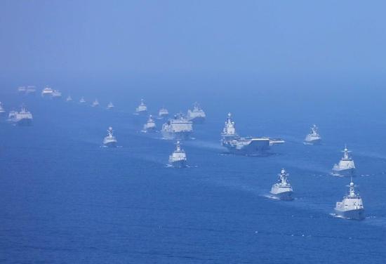 中国海军蓝军部队首次曝光:从航母到核潜艇都能调遣