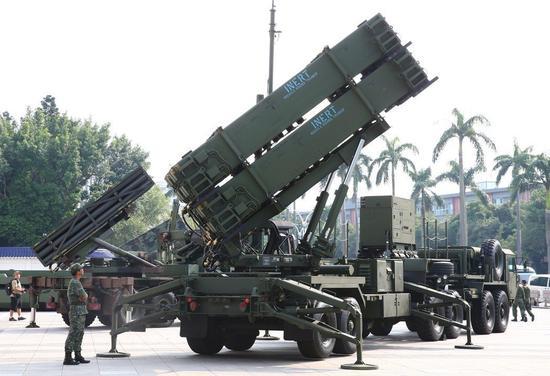 台军爱国者导弹移防花莲台东 对付解放军战机绕台?