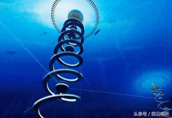 海底资源开采概念图