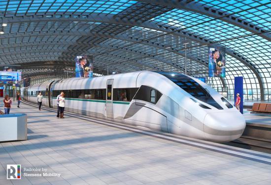 西门子展示新型高铁 曾因漫天要价丧失与华合作机会