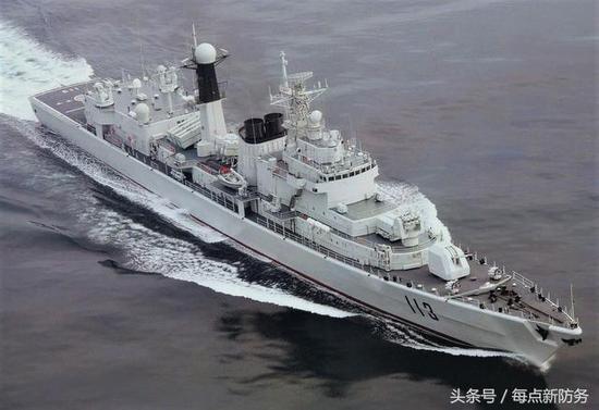 我052型驱逐舰或退役?服役20多年2次大改却不及054a