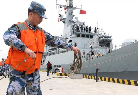 美媒:巴基斯坦已购4艘中国054A舰 但价或3.5亿美元