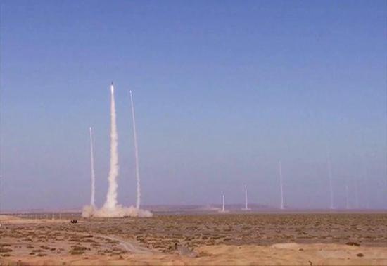 我东风10A巡航导弹试射精度极高 中弹大楼寓意深刻
