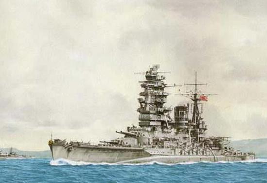 日军战列舰