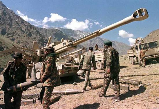 印度陆军两兵团重组 抽调印巴边境军队部署中印边境