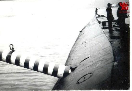 艇员们也得感谢这艘核潜艇