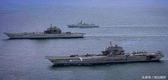 中国航母CG图