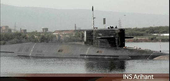 图片:歼敌者号,印度国产核潜艇从战略核潜艇先做起