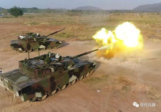 中国坦克对阵昔日老对手:需用一场来胜利证明自己