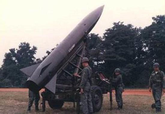 70年代的美军战术导弹