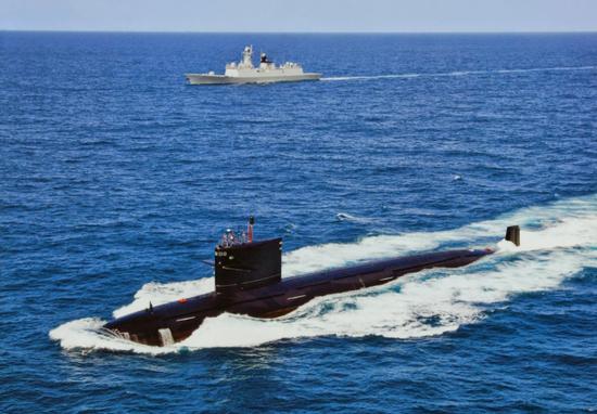 美媒:中国大规模扩建核潜艇厂房 能同时造5艘(图)