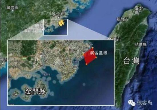 解放军18日在台海军演 台湾当局回应:我们明日操练特色小饭店加盟